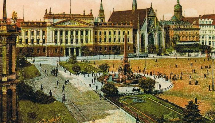 Baugeschichte der Leipziger Universität